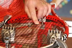 Racket(s) bespannen?. Actie ….. €12,50*